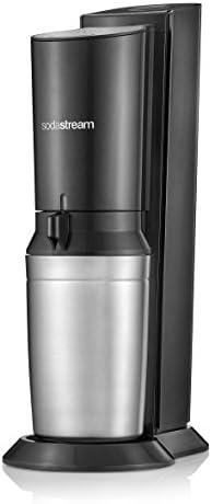 sodastream Crystal 2.0 Plata, Titanio carbonatador - Máquina para Soda (Plata, Titanio, 0,6 L, 60 L, 160 mm, 260 mm, 550 mm)