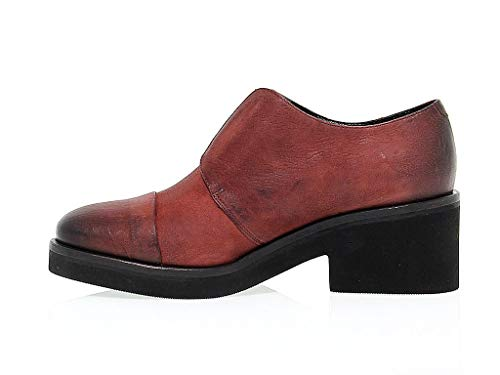 Rosso 8124red Vic Mocassini Matié Donna Pelle TaxwFUqfw