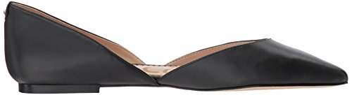 Flat Leather Sam Edelman Rodney Women's Black Ballet wvYZTIHq