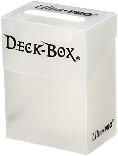Ultra Pro 80 Card Deck Box - Clear (Deck Of Cards Under 3 Dollars)