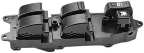LnNcWcD L/ève-vitre /électrique Principal R/égulateur de contr/ôle Bouton Interrupteur du Panneau//for Toyota Corolla Verso 84820-0F030 848200F030 Color : Black