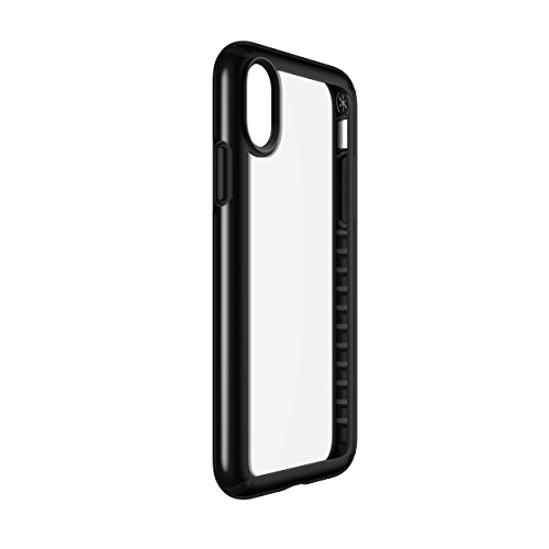 Speck Products Presidio Show Case for iPhone XS/iPhone X, Clear/Black (103134-5905)