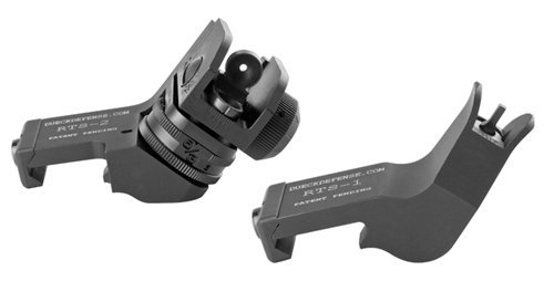 Dueck Defense Rapid Transition Sight – Set (Front & Rear) by Dueck Defense