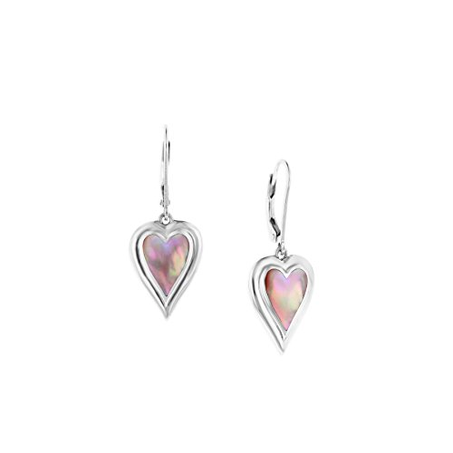 Sterling Silver 925 Inlayed Pink Mother of Pearl Kabana for sale  Delivered anywhere in USA