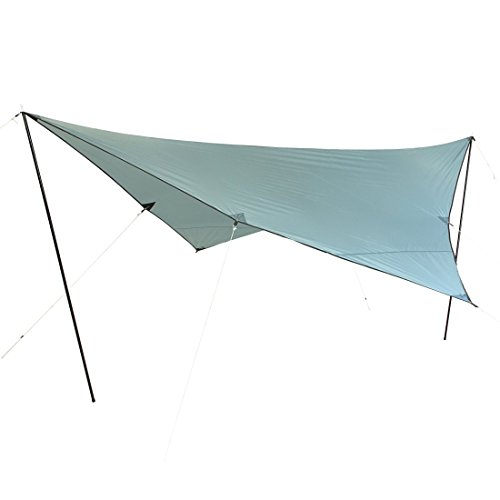 10T Arona Tarp 4x4 UV-50+ - Sun awning, 400x400 cm with erection poles and pegs, 2000 mm