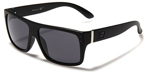 Dxtreme Flat Top Square Men's Designer Sunglasses Vintage Retro 80s - Designer Sunglasses Cheap Mens