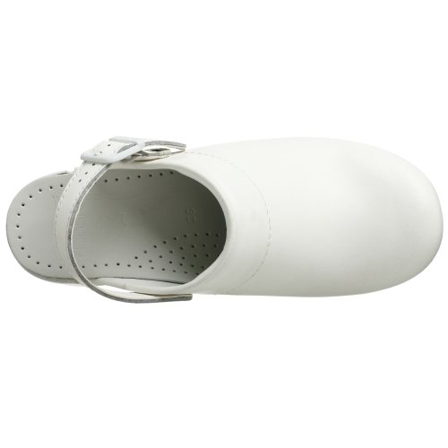 Dansko Ingrid Box Leather Clog