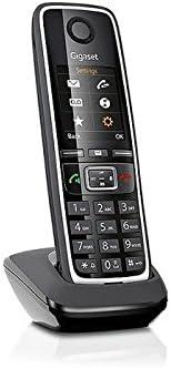Gigaset C530HX DECT Identificador de Llamadas Negro - Teléfono (Teléfono DECT, 150 entradas, Identificador de Llamadas, Negro)