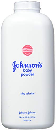 Johnson's Baby Powder, Hypoallergenic and Paraben Free, 22 oz (Pack of 3)