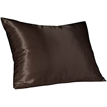 Amazon Com Luxury Bridal Satin Pillow Case With Concealed