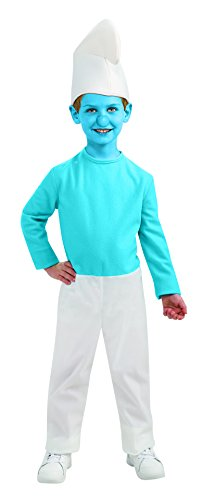 The Smurfs Smurf Costume Size: Small (4-6)
