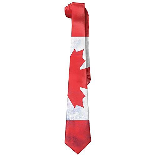 baa82385b75ba1 Men Retro Canadian American Flag Vintage Classic Fashion Wide Business Silk  Neck Neckties