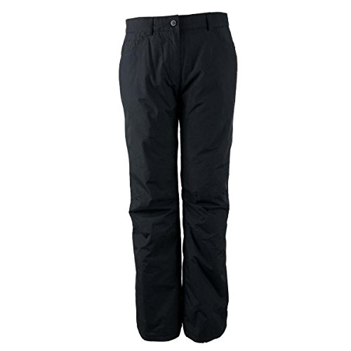 Obermeyer Jewel Jean Short Womens Ski Pants - 10 Short/Black (Pants Snowboarding Obermeyer)