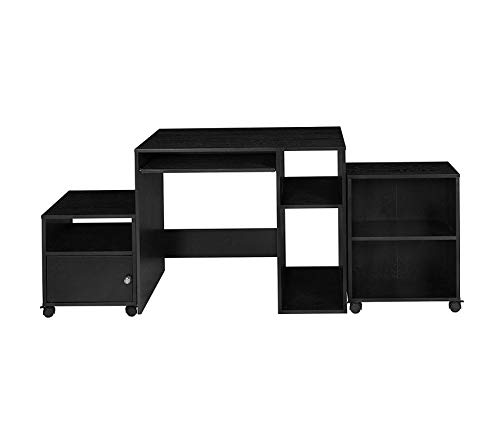 Rеgеncy Deluxe Premium Collection Office in a Box- Ebony Decor Comfy Living Furniture