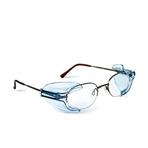 B26+ Wing Mate Safety Glasses Side Shields- Fits Small to Medium Eyeglasses (1 Pair)