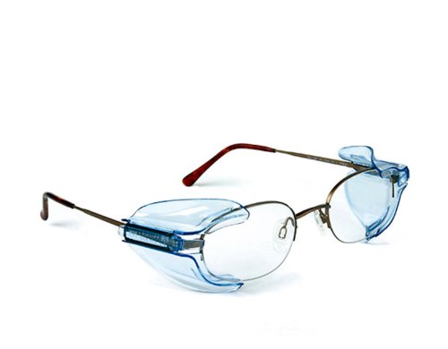 B26+ Wing Mate Safety Glasses Side Shields- Fits Small to Medium Eyeglasses (1 - Glasses Shields