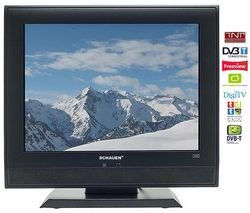 Schauen LCD de televisor lcd15p v9hd 15 pulgadas (38 cm) 4/3 DVB-T ...
