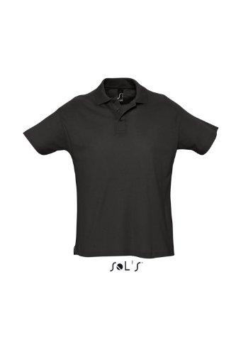 SOL´s Summer Poloshirt Black, XS