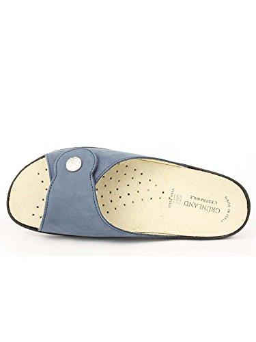 Ciabatta Grunland Ce0524 Bluette Sandalo Esta Camoscio awx0EwAq
