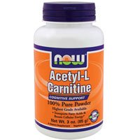 Acetyl-L Carnitine, PURE POWDER, Powder 3 OZ by Now Foods (Pack of 5) by NOW Foods