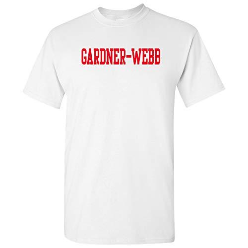 AS01 - Gardner-Webb Bulldogs Basic Block T-Shirt - 2X-Large - White