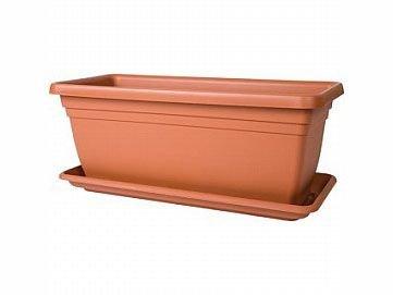 Stewart Tief durch, 80cm (Schacht separat erhältlich)–Terracotta Stewart Plastics Ltd 2259034
