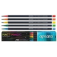 Apsara matt magic extra dark pencil pack of (1)