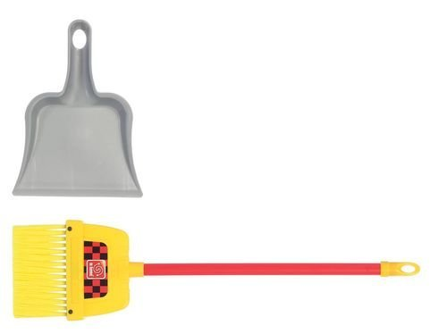 Broom and Dust Pan Set (Colors May Vary)