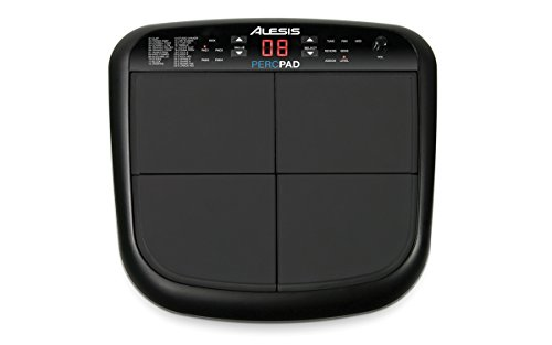 - Alesis PercPad Compact, Four-Pad Percussion Instrument