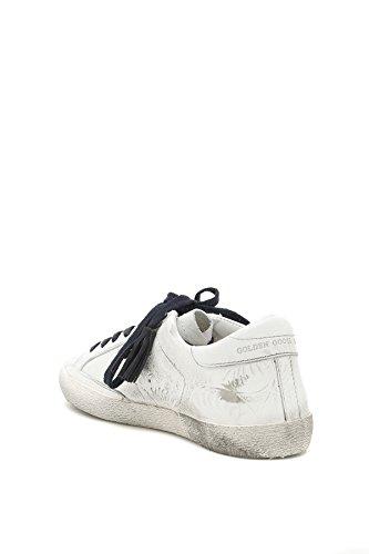 Golden Goose Sneakers Uomo G32MS590TEX Pelle Bianco Venta Mejor Lugar Perfecta Precio Barato Navegar En Línea LDaOAhN6