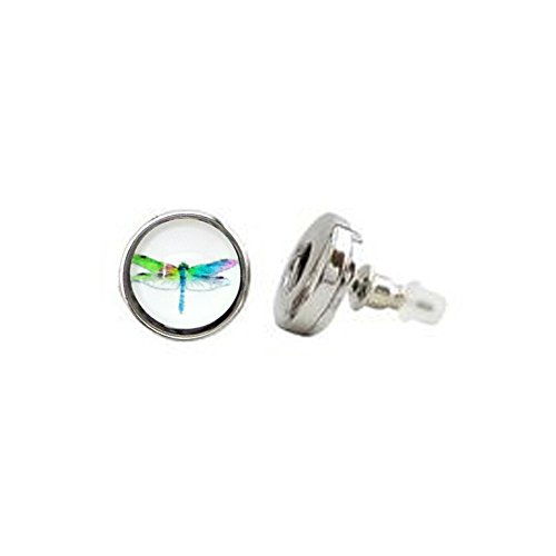 Earrings Petite Snaps Diameter Dragonfly