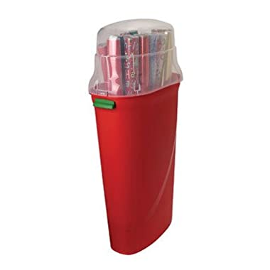 Homz 30 in. Wrapping Paper Storage