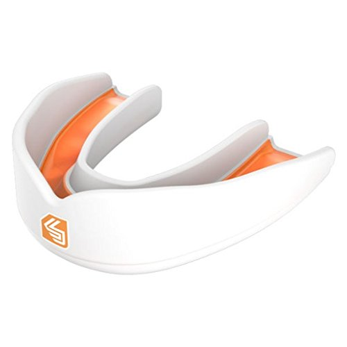 Shock/ Doctor Ultra Rugby B00ZIWDYEY Mouthguard Youths Youths - White/ Orange B00ZIWDYEY, スズシ:c2debc39 --- capela.dominiotemporario.com
