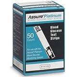 Assure Platinum Glucose Test Strips for Meter 50ct