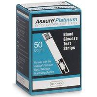 Assure glucose test strip