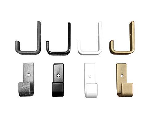 Mini Wall Hook, Single Towel Hook, Wall Hanger, Farmhouse Hook, Black, White or Gold/Brass Wall Hook, Coat Hook, Hat, Jacket hook