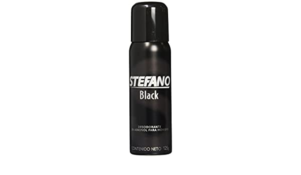 Amazon.com: Stefano Black Desodorante / Deodorant Spray by Lournay 4.3 Oz (125 grs) by Stefano: Beauty