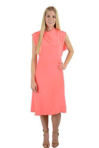 phillip-lim-womens-hot-coral-asymmetrical-drape-sleeveless-dress-4