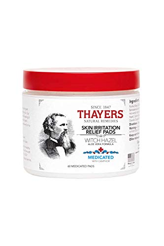 (THAYERS -Super Hazel with Aloe Vera Formula, 60 Medicated Pads)