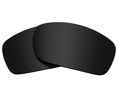(Replacement Lenses Compatible with OAKLEY Fives Squared Advanced Black)
