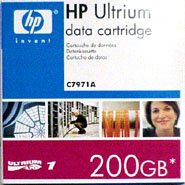 HP LTO Ultrium-1 Data Tape ( HP C7971A - 100/200GB ) from hp