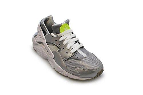 Blanc gs Vert Chaussures Huarache Pour Volt Argent Run Nike Filles argent Mtallique wB0CSqwt