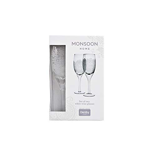 (Denby 401043762 White Wine Glass, 300 milliliters,)
