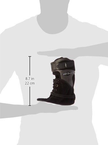 Donjoy 11-1498-4-06000 Velocity Ankle Brace, Extra Support, Right, Large, Black by DonJoy (Image #2)