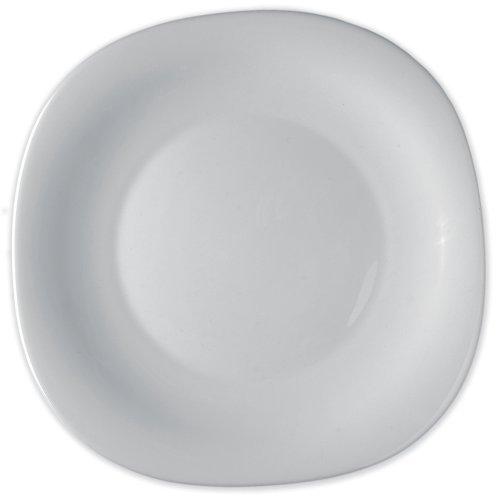 Bormioli Rocco Parma Dinner Plates, Set of 6, White by Bormioli Rocco
