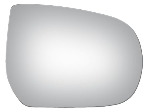 Convex Passenger Right Side Replacement Mirror Glass for 2001-2007 Ford Truck ()