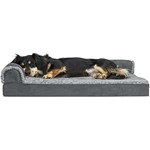 Amazon.com : Furhaven Pet Dog Bed | Deluxe Orthopedic Faux