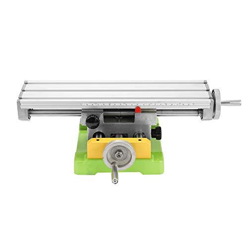 [해외]페스트 밤 미니 복합 벤치 작업 대 밀링 작업 바이스 기계 드릴링 슬라이드 테이블 6350 / Festnight Mini Compound Bench Worktable Milling Working Vise Machine Drilling Slide Table 6350