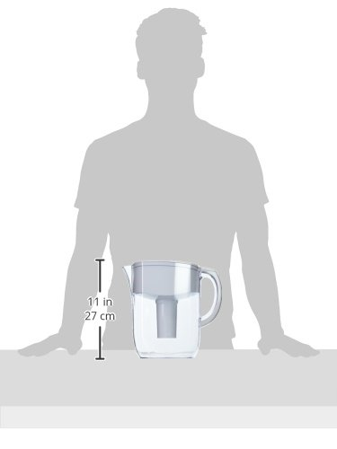 Brita Large 10 Cup Everyday Water Pitcher with Filter - BPA Free - White by Brita (Image #12)