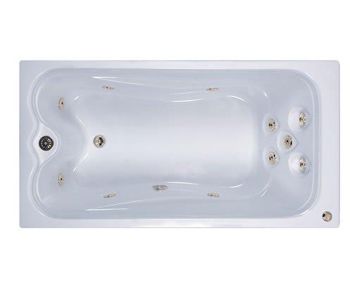 (Watertech - 7236 Elite White Whirlpool Bath (72 in. x 36 in.))